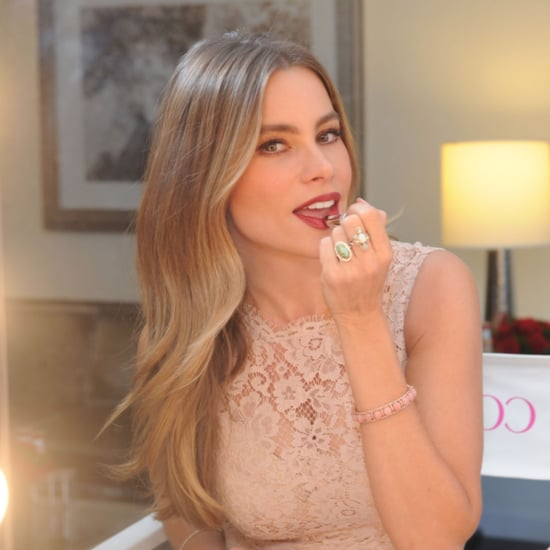 Sofia Vergara's Wedding Lipstick Shade by CoverGirl