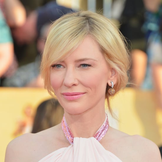 Cate Blanchett's Hair and Makeup at SAG Awards 2014