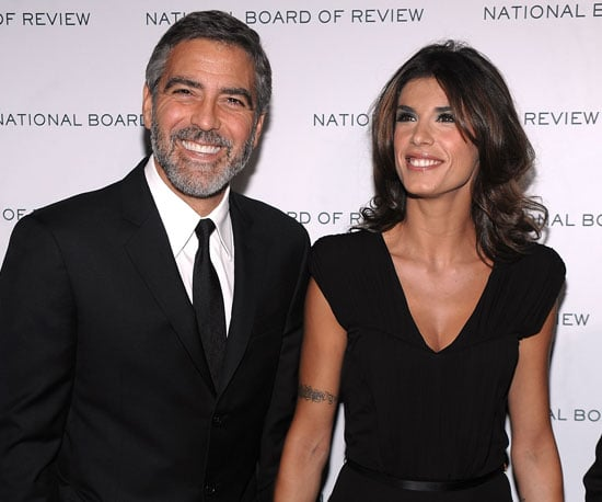 Slide Photo of George Clooney and Elisabetta Canalis in NYC 2010-01-12 16:41:59
