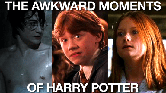 Harry Potter Awkward Moments From the Movies