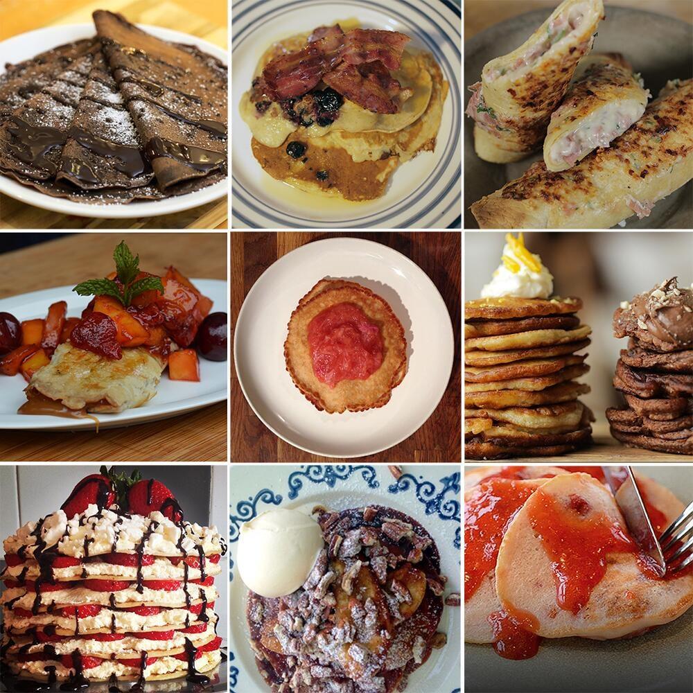 Pancakes Every Way