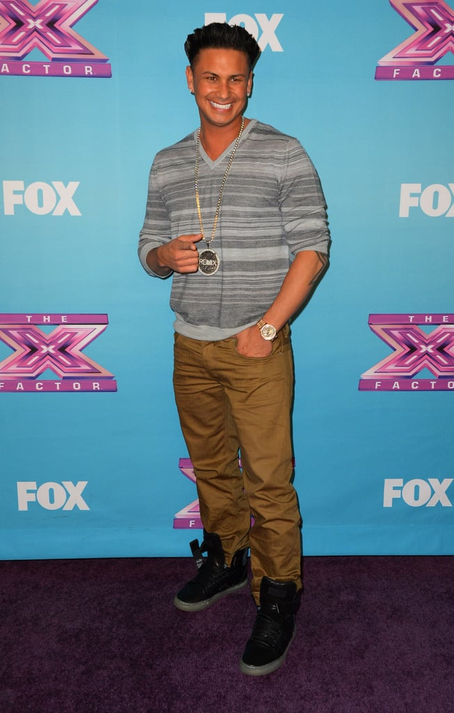 Pauly D was a guest at the finale.