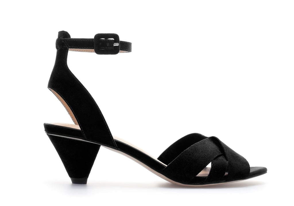 With just a pair of shorts and a simple tee, these classic black Zara sandals ($30, originally $50) add a breezy kind of polish, courtesy of a low heel.