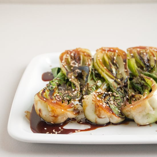 Spicy Bok Choy With Sesame Seeds