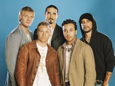 Video of NKOTBSB at AMAs