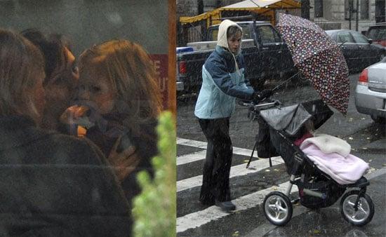 Violet and Jennifer Take On Stormy Weather