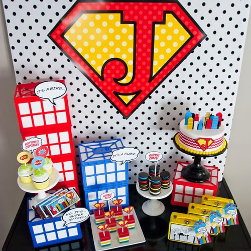 Superhero Party on a Budget