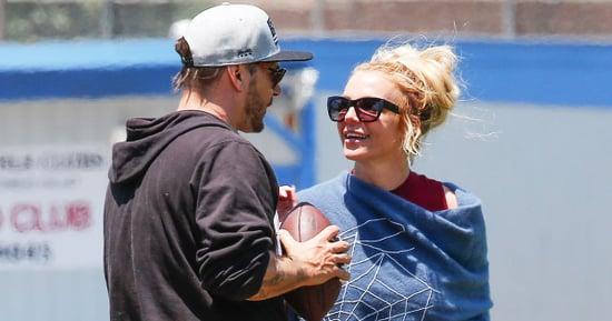 Britney Spears and Kevin Federline Reunite at Son's Football Game