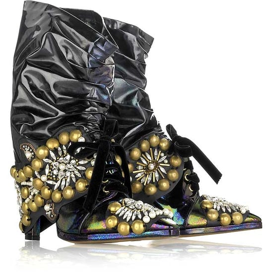 Christian Lacroix Motorcycle-Style Boots: Love It or Hate It?