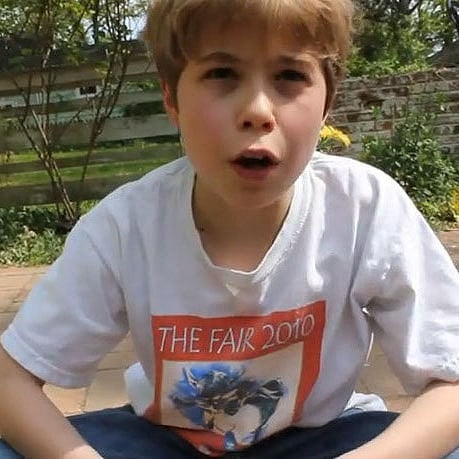 9-Year-Old Shares Life Philosophy   Video