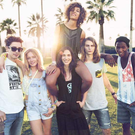 See H&M's Latest Festival Inspired Spring Campaign
