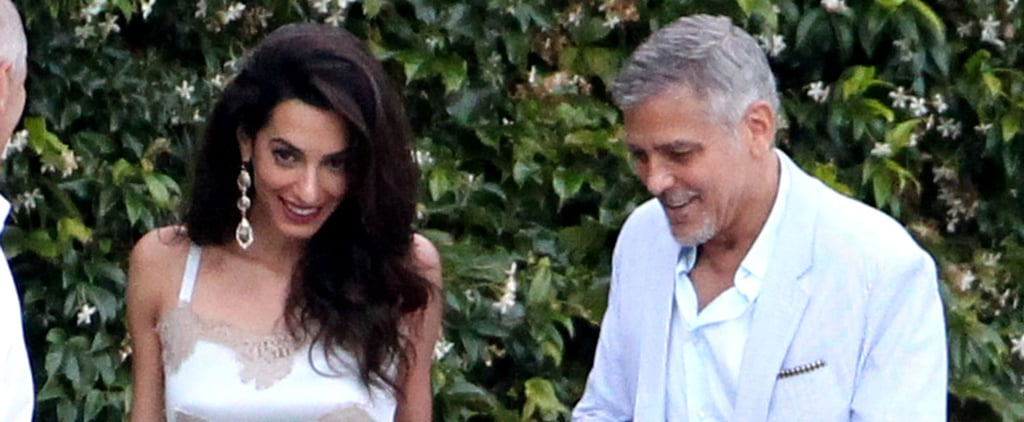 George and Amal Clooney Have a Star-Studded Date Night in Italy