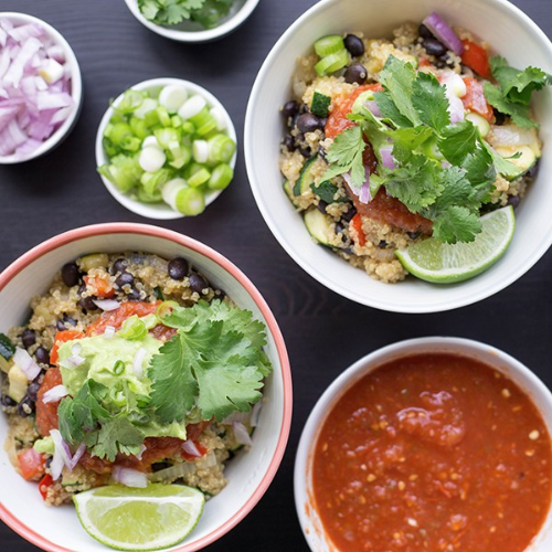 Mexican Quinoa Bowl Recipe