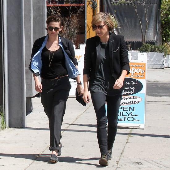 Kristen Stewart and Alicia Cargile in LA March 2015