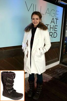Jessica Alba's Earth Boots