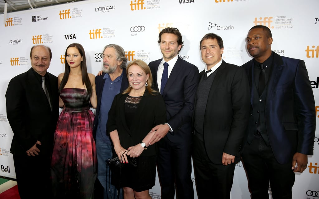 Jennifer Brings a Touch of Katniss to Her TIFF Premiere With Bradley