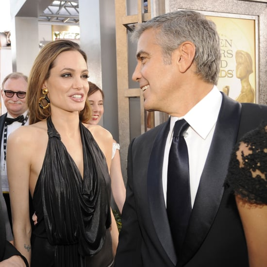 Angelina Jolie With Friends at SAG Awards Pictures 2012