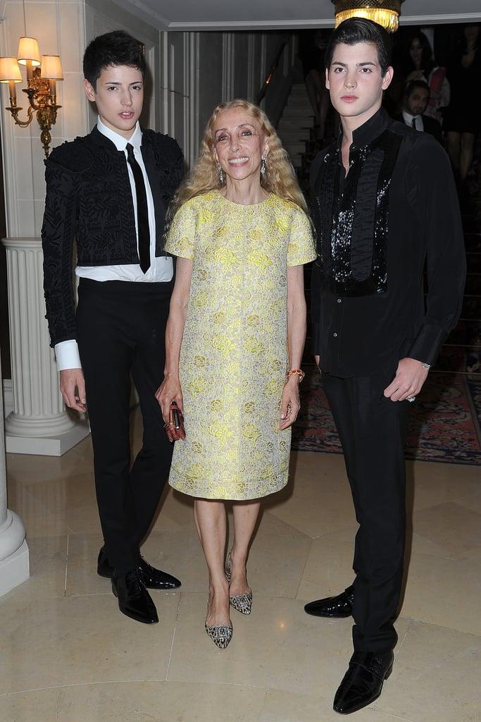 Vogue Italia Editor in Chief Franca Sozzani and Guests