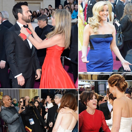 The 30 Best Candid Oscars Red-Carpet Pictures