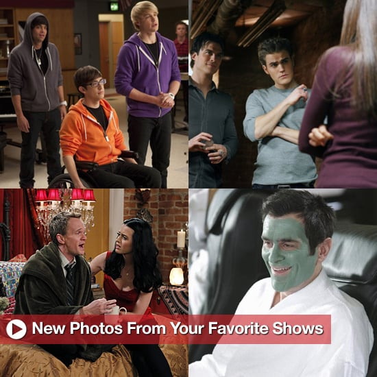 Pictures From The Vampire Diaries, Glee, Grey's Anatomy, and More
