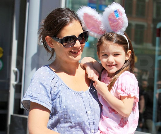Slide Picture of Suri Cruise Wearing Bunny Ears