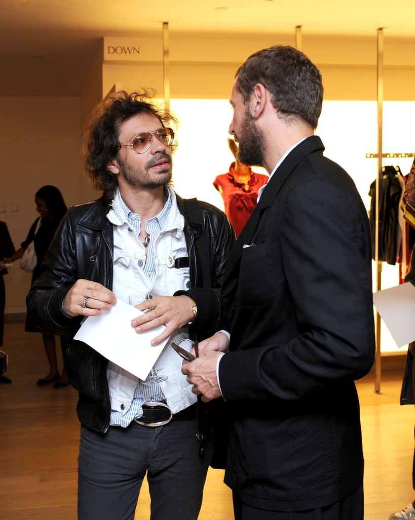 Olivier Zahm and Stefano Pilati