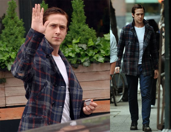 Photos of Ryan Gosling On the Set of All Good Things