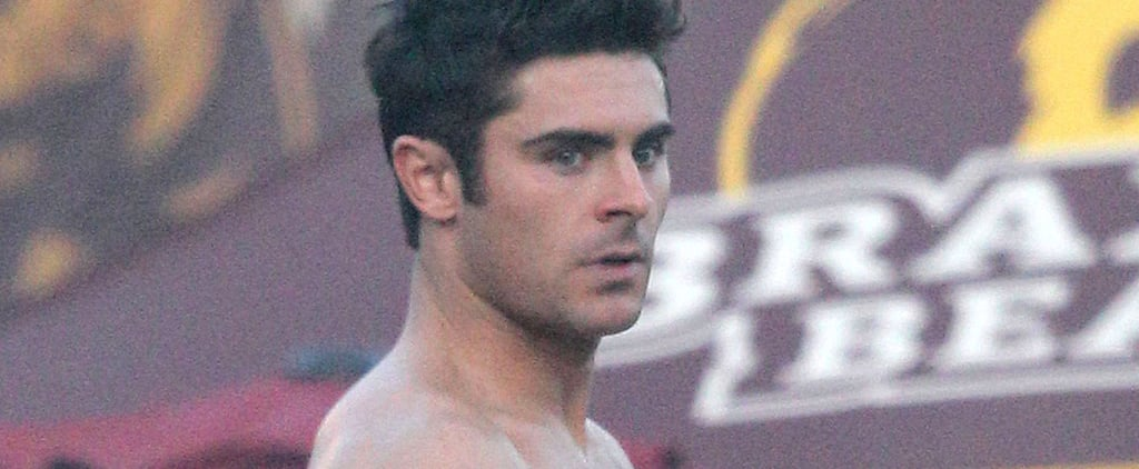Zac Efron Grabbing His Bulge on Set Will Leave You in a Cold Sweat