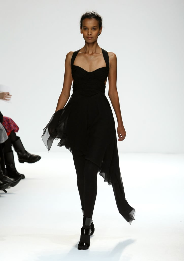 Liya Kebede at Narciso Rodriguez