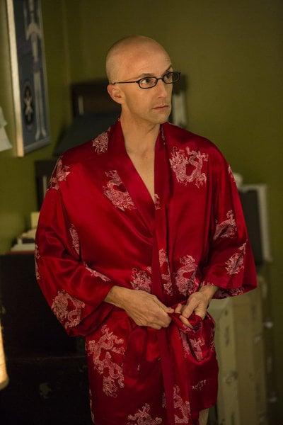 """Jim Rash as Dean Pelton on Community's fifth season premiere, """"Repilot."""""""
