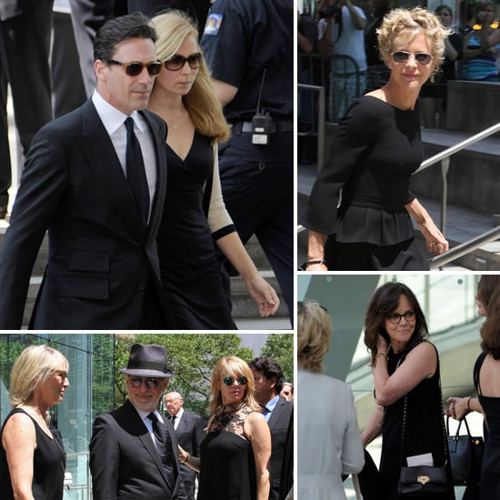 Hollywood Stars Pay Tribute to Nora Ephron at Her Memorial Service in NYC