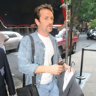 Luke Perry Out in NYC