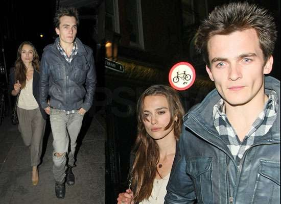Photos of Keira Knightley and Rupert Friend Together in London After She Filmed Maze and Before Starting The Emperor's Children