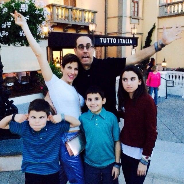 The Seinfeld family hit Disney World over Spring break. Source: Instagram user jessseinfeld