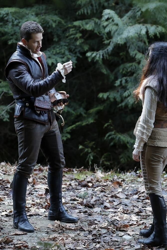 Josh Dallas as Charming on Once Upon a Time.