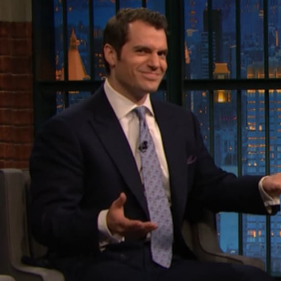 Henry Cavill on Late Night With Seth Meyers March 2016