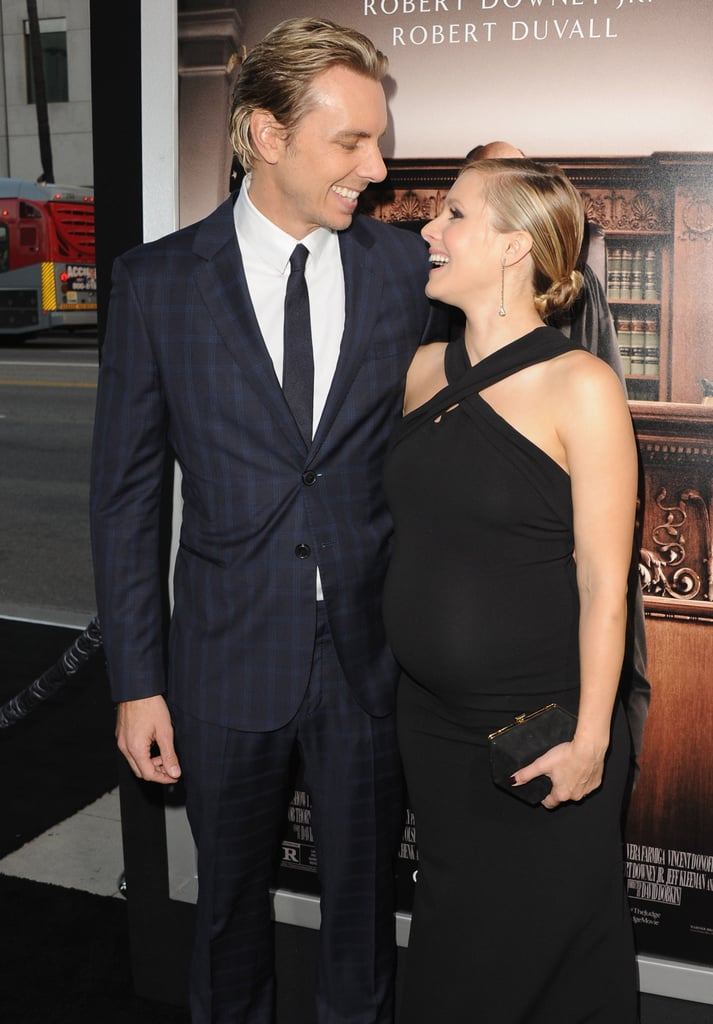 Dax and Kristen shared the look of love at the October 2014 premiere of The Judge in LA.