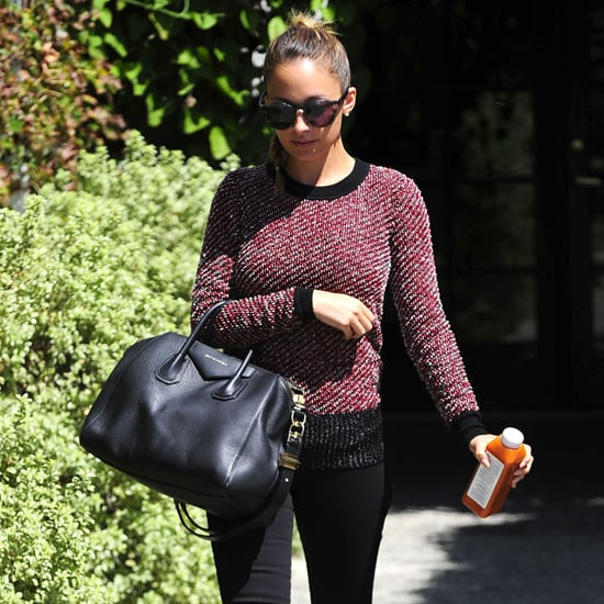 Nicole Richie Black Givenchy Bag