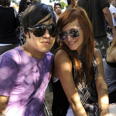 Ashlee and Pete Go to Lollapalooza