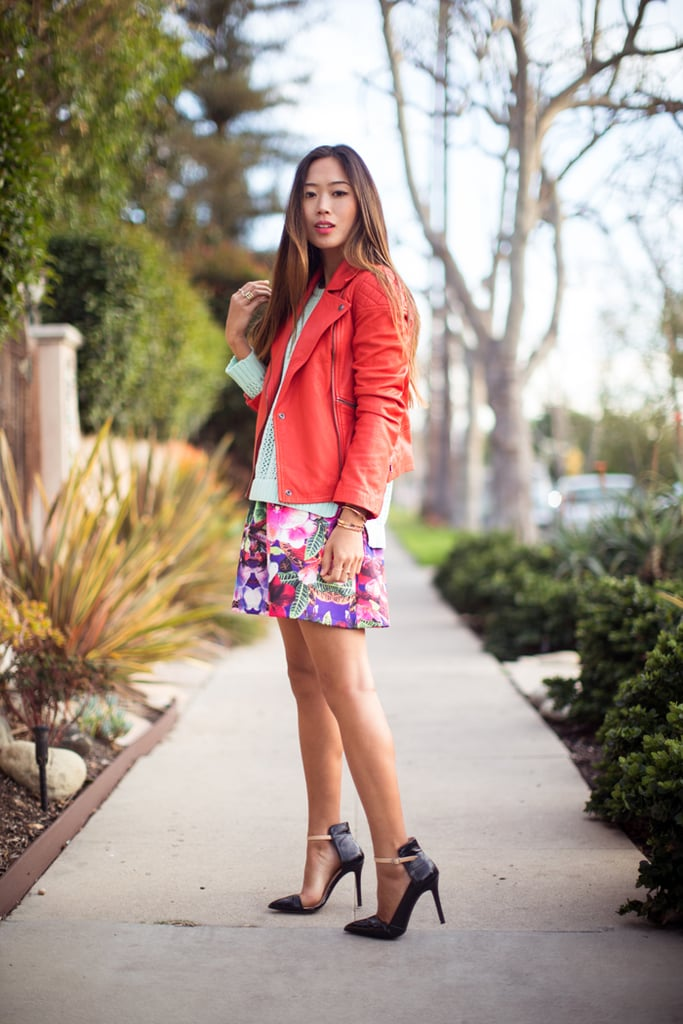 Keep clicking to see more of my bold floral picks on the next few slides, and shop all my favorite Spring pieces at Piperlime. See more Style Shortcuts