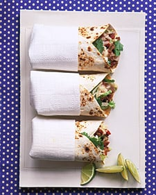 Fast and Easy Beef and Potato Burritos Recipe
