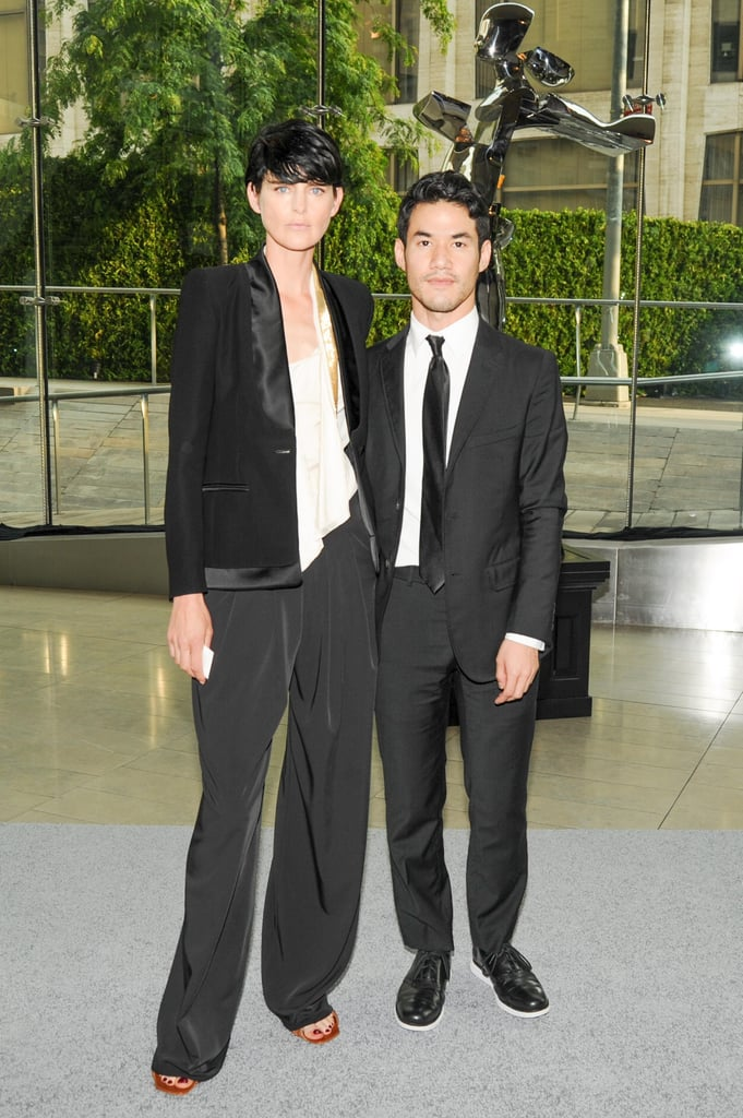 Stella Tennant and Joseph Altuzarra at the 2013 CFDA Awards. Source: Neil Rasmus/BFAnyc.com