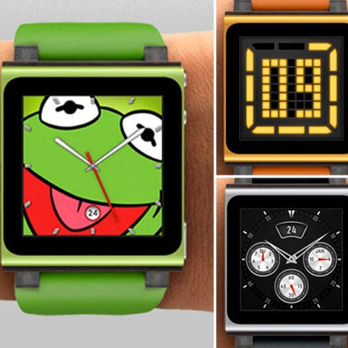 iPod Nano Watch Face Pictures