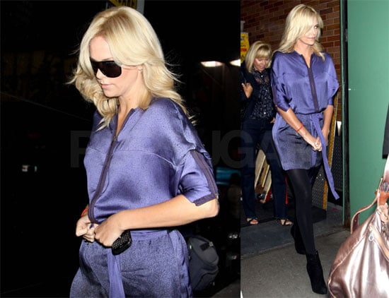 Photos and Video of Charlize Theron on Good Morning America