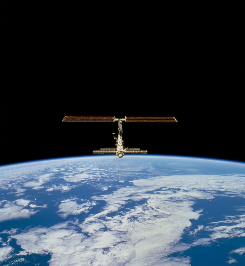 First Images of ISS in Space