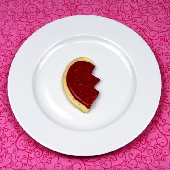 Heart-Shaped Sugar Cookie