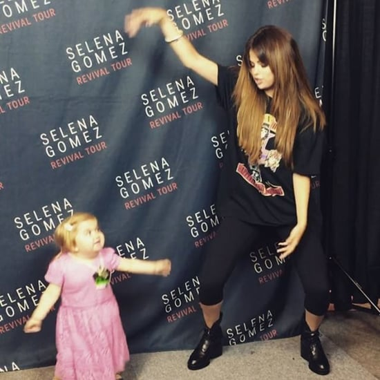 Selena Gomez Dancing With Audrey Nethery at Her Concert