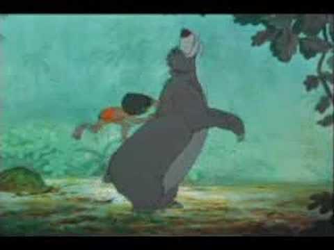 """""""Bare Necessities,"""" The Jungle Book"""