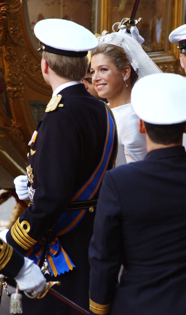 Prince Willem-Alexander and Máxima Zorreguieta The Bride: Máxima Zorreguieta, born in Buenas Aires. When they announced their engagement, she addressed the nation in fluent Dutch. The Groom: Willem-Alexander, Prince of Orange, heir apparent to the throne of the Netherlands. When: Feb. 2, 2002. Where: Amsterdam.