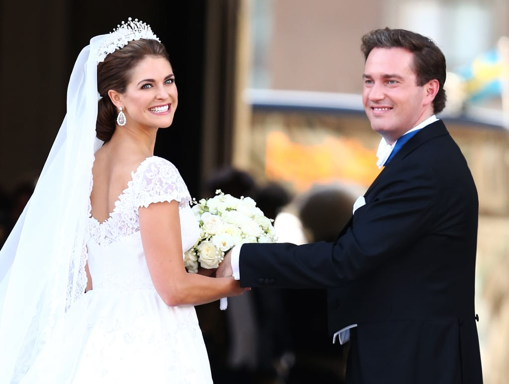 Princess Madeleine of Sweden and Christopher O'Neill got married in Sweden.